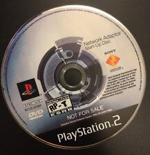 Sony Play Station PS2 Network Adapter Start-up Disc Video Game Console