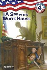 A Stepping Stone Book A Spy in the White House 4 Ron Roy NEW