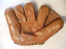 1940's Charles Red Ruffing Trojan model CR RH splitfinger glove EX M. Sharf & Co