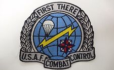 "US AIRFORCE USAF COMBAT CONTROL ""FIRST THERE"" PATCH"