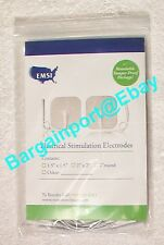"16 EMSI Electrical tens Stimulation Electrodes - 1.5"" x 1.5"" New - Free Shipping"