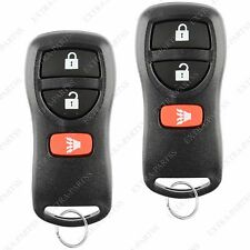 2 Brand New Replacement Keyless Entry Remote Key Car Fob For Nissan Kbrastu15