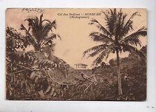Carte postale MADAGASCAR. Nossi-Bé. Col des Sadjoas. Dos écrit 1957