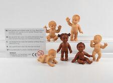 Babys Baby === 6 x Babies Figuren === Schleich auch für Puppenmöbel !