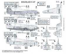 Berna Decals 1/72 DOUGLAS C-47 SKYTRAIN French Indochina
