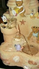 SANDCASTLE Teddy Bear Musical FOUNTAIN plays 3 songs