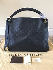 Authentic Louis Vuitton Monogram Empreinte Leather Artsy Mm Infini Hobo Bag
