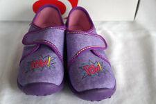 Rohde Hausschuhe Kinderhausschuhe Schuhe Mädchen Lila POW! Gr. 30 neu