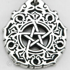 PENTACLE of MAGIC Pagan Arabesque PENDANT Wicca Necklace ~  The Goddess Within