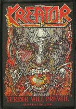 "KREATOR PATCH / AUFNÄHER # 14 ""TERROR WILL PREVAIL"""