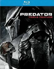 Predator Triple Feature with Arnold Schwarzenegger (Blu-Ray discs)
