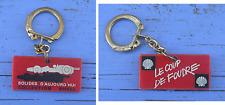 Porte-clé c.1970, Collection Shell, bolides d'aujourd'hui, le coup de foudre