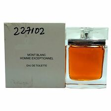 EXCEPTIONNEL HOMME BY MONT BLANC EAU DE TOILETTE NATURAL SPRAY 75 ML/2.5 OZ. (T)