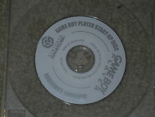 ***GAMEBOY PLAYER START UP DISC NINTENDO GAMECUBE GAME DISC ONLY***