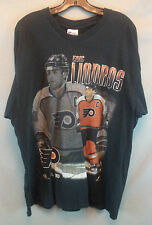 XXL Eric Lindros tshirt NHL Philadelphia Flyers power forward hockey 2xl pro