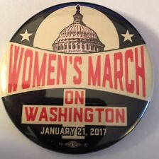 "Popular 2 1/4"" Women's March on Washington, Jan. 21. 2017 Cause Pinback"