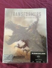 Blufans Exclusive Transformers 4 3D TRIPACK 1-click Blu-ray SteelBook Set