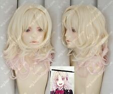 DIABOLIK LOVERS/Komori ユイYui Blond gradual change cosplay Perücken