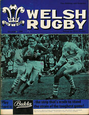 WELSH RUGBY MAGAZINE DECEMBER 1968, MILFORD HAVEN, BRYNMAWR, CAERLEON COLL.