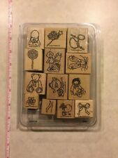 Stampin Up Buttons Bows & Twinkletoes Lot Of 13