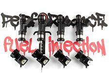 4 - NEW 650cc BOSCH EV14 Fuel Injectors 02-14 Impreza WRX & 07-15+ WRX STi