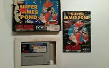 Super James Pond Nintendo SNES