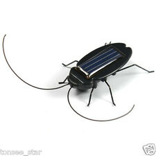 Solar Power Educational Energy Cockroach Insect Kid Toy Fun Gadget Office School