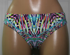 NEW Kenneth Cole RS6RB97 Hot To Trot Tribal Hipster Swim Bikini Bottom L Large