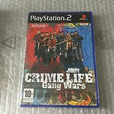VINTAGE# PS2 PLAYSTATION CRIME LIFE GANG WARS KONAMI# PAL SEALED SIGILLATO