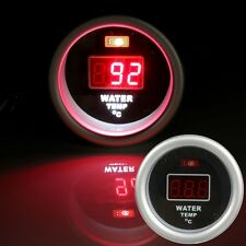 52mm Car Auto Red Digital LED Water Temp Temperature Gauge Sensor Fitting Kit