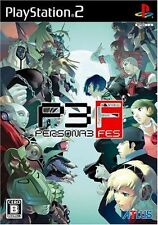 Used PS2 Persona 3  Fes ATLUS SONY PLAYSTATION JAPAN IMPORT