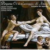 Cantatas for Soprano (Ipata, Auser Musici, Fedi) CD NEW