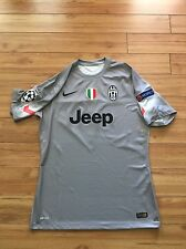 Juventus 14-15 Buffon Player Issue GK Goalkeeper Jersey Shirt SZ Size XL Large