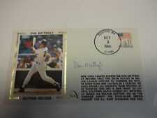 Don Mattingly  Record Record Autographed Cache New York Yankees M92195
