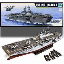 TRUMPETER 1/350 USS IWO JIMA LHD-7 AMPHIBIOUS ASSAULT SHIP MODEL KIT