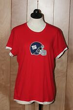 WOMEN'S NEW YORK GIANTS SHORT SLEEVE SHIRT-SIZE: XL