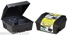 (2) Motomco 33450 Tomcat Professional Empty Rat Bait Feeding Stations (Qty=2)