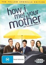 How I Met Your Mother : Series Season 8 DVD 2013, 3-Disc Set R4