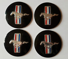 4 x Horse Wheel Center Cover Decor Sticker Emblem 56mm Ford Mustang GT Shelby