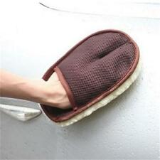 Hot Car Auto Cleaning Glove Wash Wax Cleaner Soft Washing Mitt Pile Tools ON