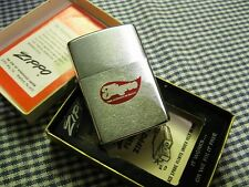 VINTAGE ZIPPO BRUSHED CHROME FILIGREE LIGHTER 1973