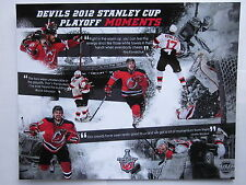 New Jersey Devils 2012 Stanley Cup Playoff Moments Photo SGA Prudential Mint