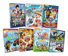 Paw Patrol Nick JR Series Box / DVD Set(s) Complete w/ Brave Heroes Big Rescues!