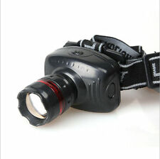 NEW Q5 500 Lumen LED 3-Mode Zoomable Headlamp Head torch Light Lamp