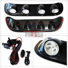 Roof Fog Light Strip Universal Fit off road 4x4 truck Clear Lens LRL-BK980-GN