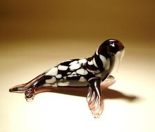 "Blown Glass Figurine ""Murano"" Art Animal Ocean Creature WALRUS"