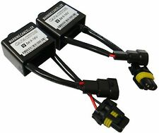HID WARNING CANCELER ANTI FLICKER 9006 HB4 TWO CAPACITOR HEAD LIGHT NO ERROR FIX