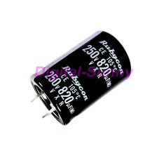 1X820uF 250V Electrolytic radial Capacitor DIP NEW 1pcs free shipping