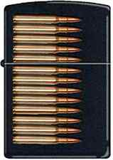 Zippo CM7986 Assault Rifle Bullets RARE Lighter