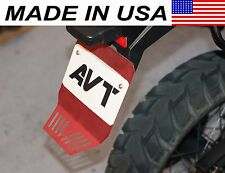 AVT BMW F650GS Twin / F700GS / F800GS Rear Fender Extender / Mud Flap - RED
